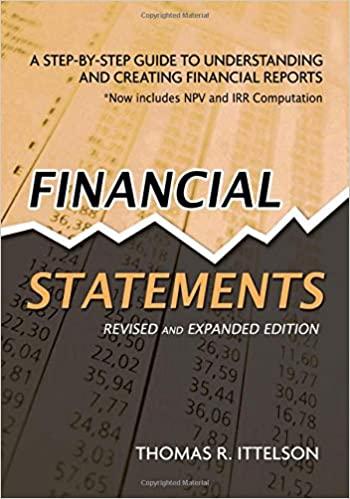 FINANCIAL STATEMENT - 9781601630230
