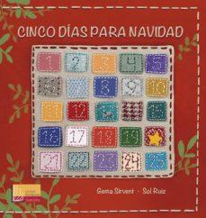 CINCO DIAS PARA NAVIDAD - 9788427143883