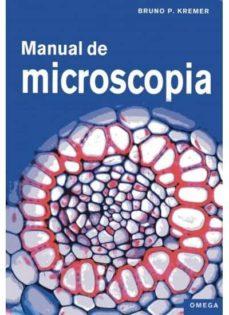 MANUAL DE MICROSCOPIA - 9788428215701