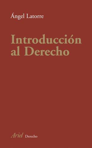 INTRODUCCION AL DERECHO - 9788434432215