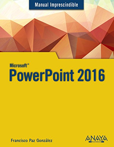Powerpoint 2016.  - (Manuales Imprescindibles) - 9788441538054