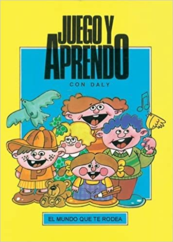 JUEGO Y APRENDO CON DALY 5 tomos - 9788486584084