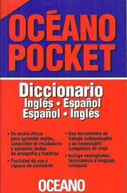 DICCIONARIO OCEANO POCKET INGLES-ESPAÑOL