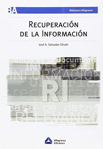 RECUPERACION DE LA INFORMACION - 9789871305407